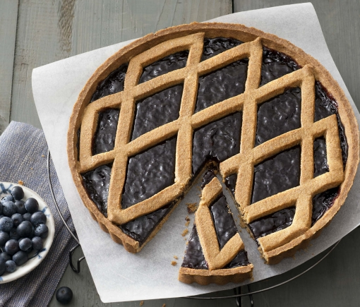 CROSTATA INTEGRALE E MIRTILLI